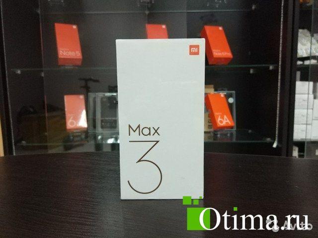 Xiaomi Mi Max 3 (Глобальный, новый) в Сочи Магазин